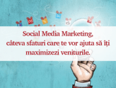 social media sfaturi marketing